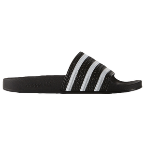 adidas Originals Adilette - Men's - Black/White/Black