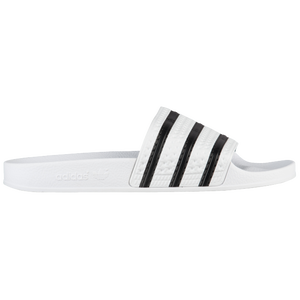 adidas Originals Adilette - Men's - White/Black/White