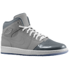 Jordan Retro 1 '95 - Boys' Grade School - Grey / White