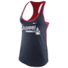 Nike MLB Tri-Blend Racerback Tank - Women's - Atlanta Braves - Navy / Red