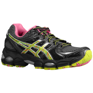 ASICS� Gel - Nimbus 14 - Women's - Black/Digital/Neon Pink