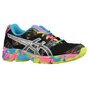 ASICS� Gel - Noosa Tri 8 - Girls' Grade School - Black/Onyx/Confetti