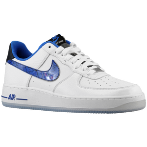 Nike Air Force 1 Low - Men's - White/Varsity Royal/Black
