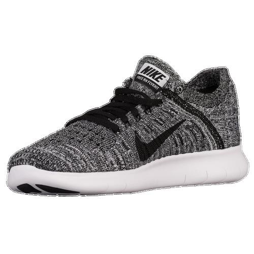 ... Nike Free RN Flyknit - Women\u0026#39;s - White / Black