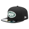 New Era NFL 59Fifty Sideline Cap - Men's - New York Jets - Black / Dark Green