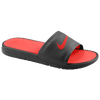 Nike Benassi Solarsoft Slide - Men's - Black / Red