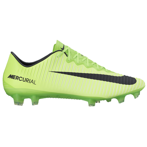 Nike Mercurial Vapor XI FG Mens Soccer Shoes Electric Green/Flash  Lime/White high