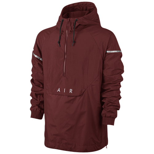 promo code 5775f c770d Nike Anorak Woven Air Hybird Jacket Mens Casual Clothing Dark Cayenne  lovely.