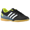 adidas Freefootball Super Sala - Boys' Grade School - Black / White