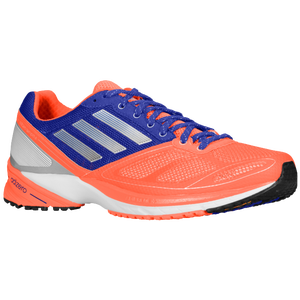 adidas adiZero Tempo 6 - Men's - Infrared/Tech Silver Metallic/Hero Ink