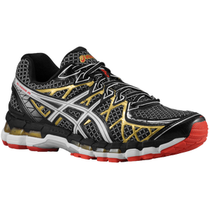 ASICS� Gel - Kayano 20 - Men's - Black/White/Gold