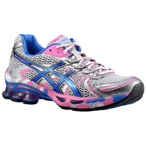 ASICS� Gel - Sendai - Women's - White/Brilliant Blue/Silver