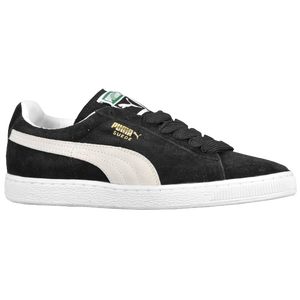 PUMA Suede Classic Eco - Men's - Black/White