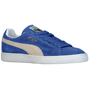 PUMA Suede Classic Eco - Men's - Olympian Blue/White