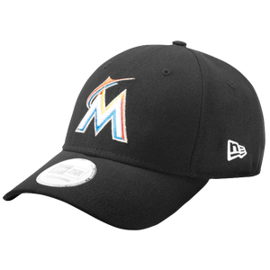 New Era 9Forty MLB League Cap - Men's - Miami Marlins - Black