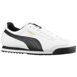 PUMA Roma Basic - Men's - White/Black