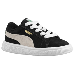 PUMA Suede Classic - Boys' Preschool - Black/White