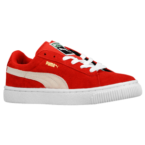 PUMA Suede Classic - Boys' Preschool - High Risk Red/White