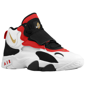 Nike Speed Turf - Boys' Preschool - White/Black/Gym Red/Metallic Gold