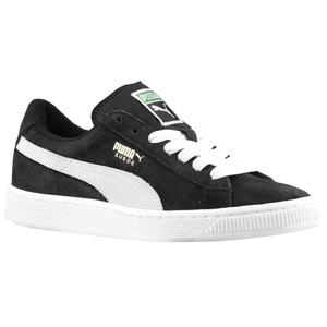 PUMA Suede Classic - Boys' Grade School - Black/White