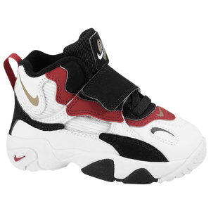 Nike Speed Turf - Boys' Toddler - White/Black/Gym Red/Metallic Gold
