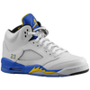 Jordan Retro 5 - Men's - White / Yellow