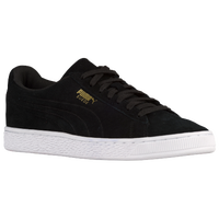 Image result for puma suede black and gold