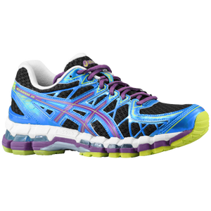 ASICS� Gel - Kayano 20 - Women's - Black/Plum/Blue