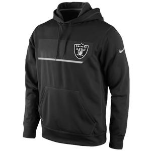 Nike NFL Therma-Fit Performance Hoodie - Men's - Oakland Raiders - Black