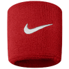 Nike Swoosh Wristbands - Men's - Red / White