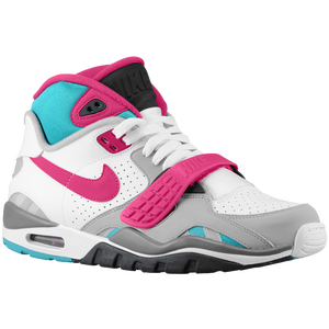 Nike Air Trainer SC II - Men's - White/Dark Grey/Wolf Grey/Bright Magenta