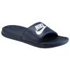 Nike Benassi JDI Slide - Men's - Navy / White