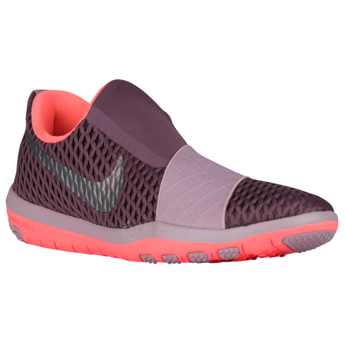 Nike Free Connect Womens Training Shoes Purple Shade/Bright Mango/Plum  Fog/Metallic