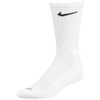 Nike 6 Pack Dri-Fit Crew Sock - White / Black