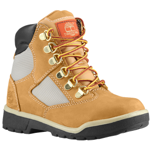 "Timberland 6"" Field Boot - Boys' Grade School - Wheat Nubuck"