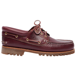 Timberland 3 Eye Boat Shoe - Men's - Burgundy