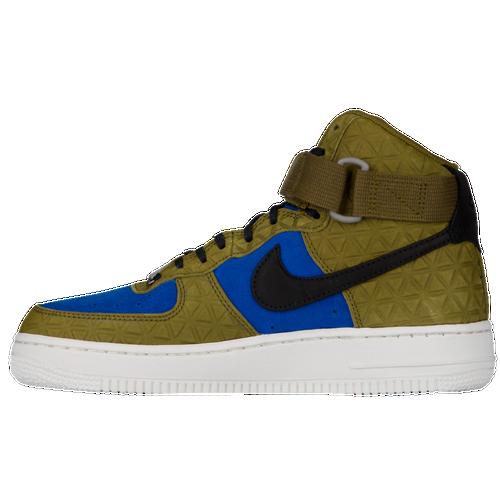 womens nike air force 1 green blue