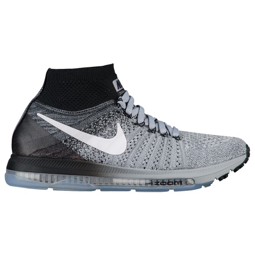 Nike Zoom All Out Flyknit Womens Running Shoes Wolf Grey/White/Black/Pure