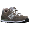 New Balance 574 - Women's - Grey / Silver