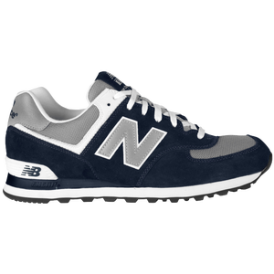 New Balance 574 - Men's - Navy/Grey/White