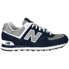 New Balance 574 - Men's - Black / Silver
