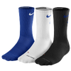 Nike 3 Pack Dri-Fit Fly Crew 1 Sock - Men's - Blue / White