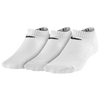 Nike 3 Pack Moisture MGT Cushion No Show Sock - Boys' Grade School - All White / White