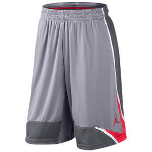Jordan Phase 23 Shorts - Men's - Cement/Dark Grey/White