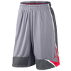 Jordan Phase 23 Short - Men's - Grey / Red