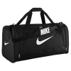 Nike Brasilia 6 Large Duffle - Black / White