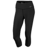 Nike Legend 2.0 Tight Poly Capris - Women's - All Black / Black