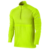 Nike Dri-FIT Knit Long Sleeve 1/2 Zip Top - Men's - Light Green / Silver