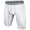 "Nike Pro Combat Compression 9"" Short 2.0 - Men's - White / Grey"