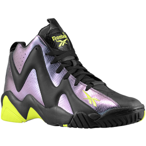 Reebok Kamikaze II Mid - Men's - Nocturnal/Black/Neon Yellow/White